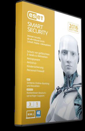 ESET Smart Security drive