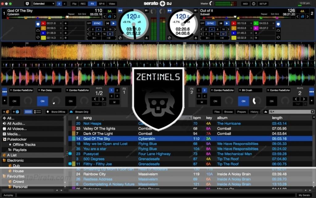 Serato DJ 1.9 DRIVE 1 LINK