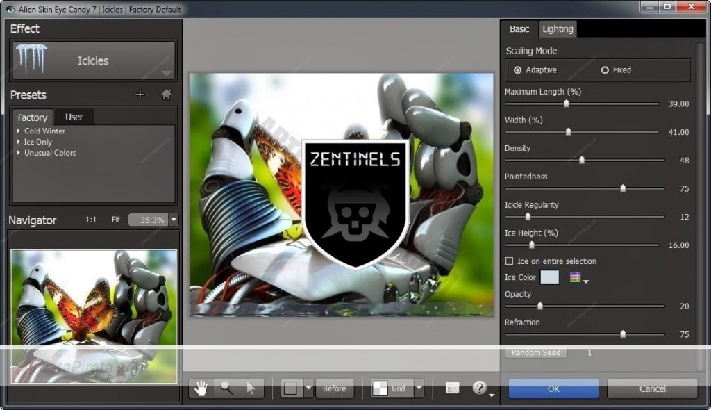 Alien Skin Eye Candy 7.1 plugin photoshop gratis