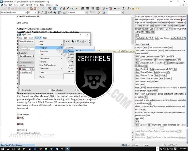 Corel WordPerfect Office X8 GRATIS