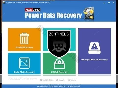 minitool powerdata recovery 7 mega