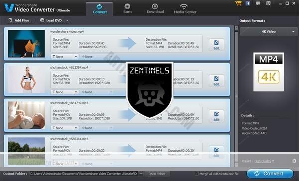 WonderShare Video Converter 10