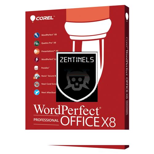 Corel WordPerfect OFfice X8 DRIVE TORRENT