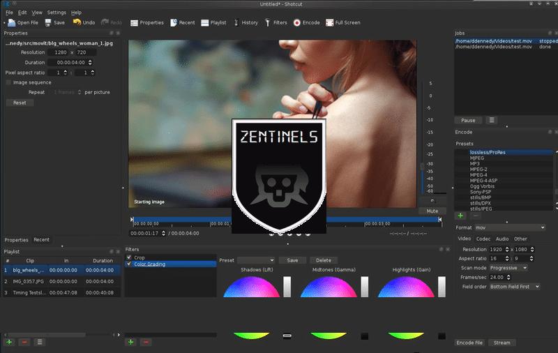 Shotcut 17 editor de video 32 bits