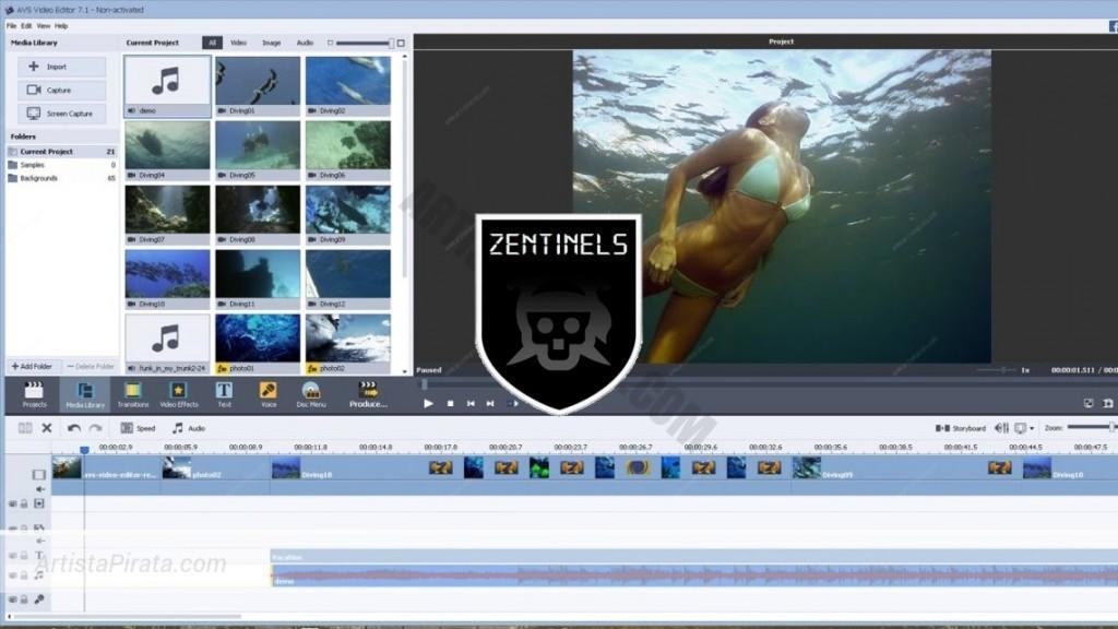 AVS Video Editor 8 gratis