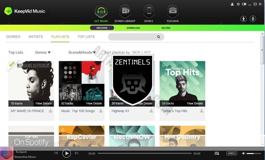 keepvid music 8.2 descarga musica de spotify gratis