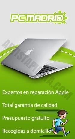reparar macbook madrid