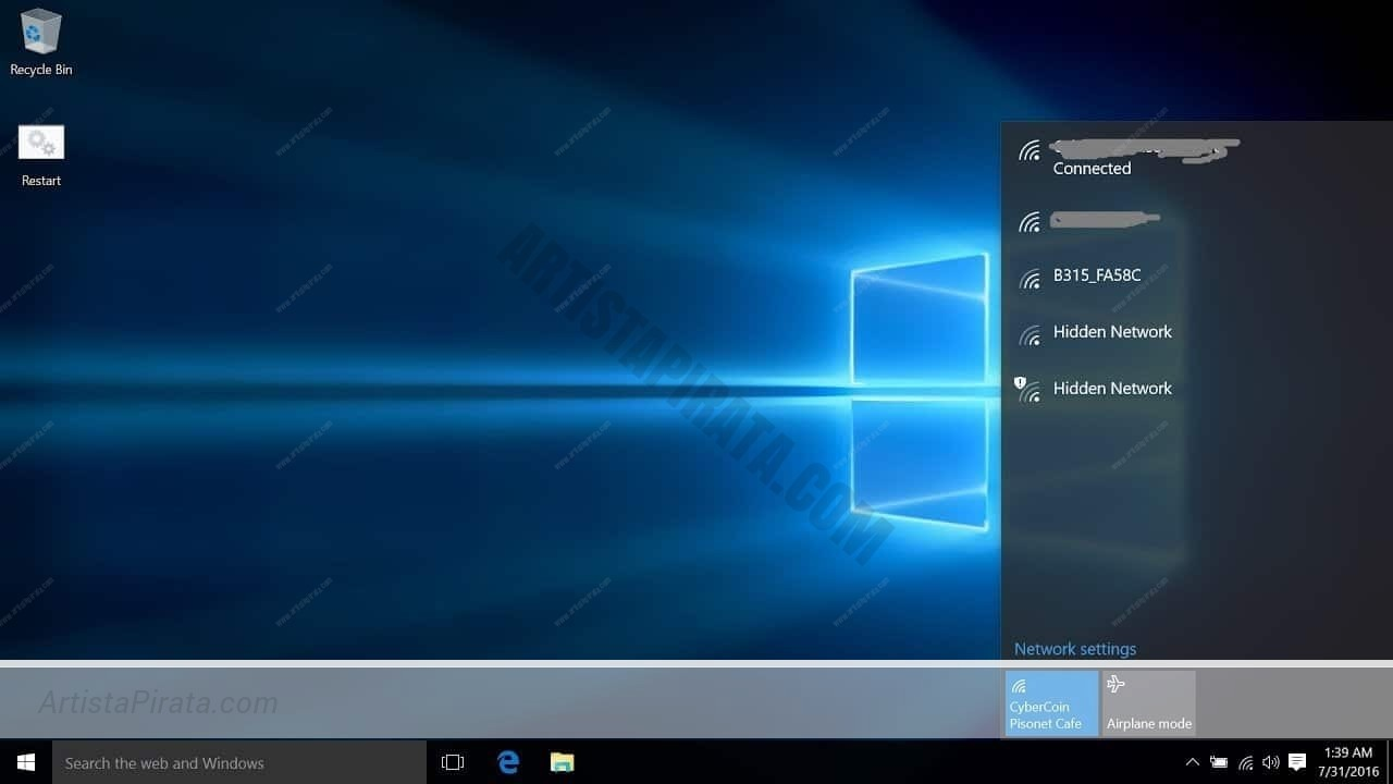 Windows 10 Pro 2018 Activador Original Permanente Artista Pirata
