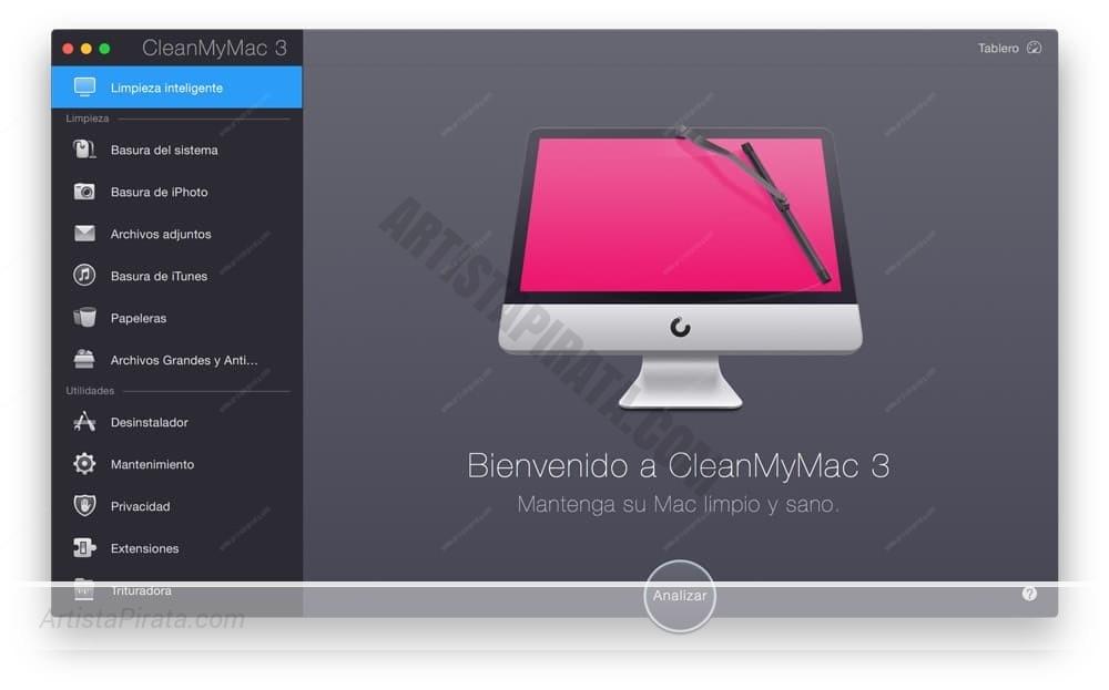 CleanMyMac 3.9 - Compatible hasta HIGH SIERRA