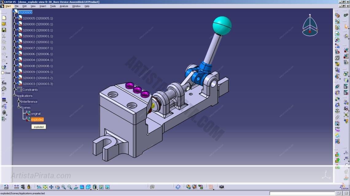 K4TI4 V5 R21 - Diseño, fabricación e Ingeniería Asistida