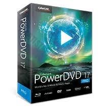 PowerDVD 17 - 4K HDR 10 BITS - Blu-RAY - DVD DUAL