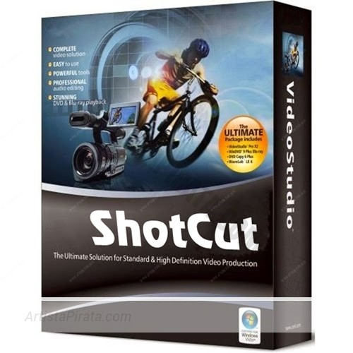 ShotCut-18 editor de video gratis
