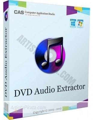 DVD Audio Extractor 7.6 extraer audio mp3 de dvd