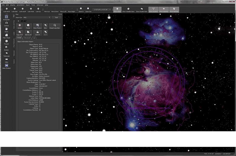 The Sky X PROFESSIONAL - Astronomía descargar programa astronomia gratis