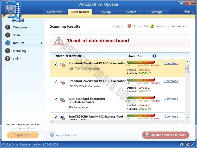 Winzip DRIVER Updater 5 drive zippyshare mega gratis actualizar controladores viejos