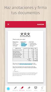 ANDROID - ScanBot PRO - Escanea con la cámara del Smartphone a PDF