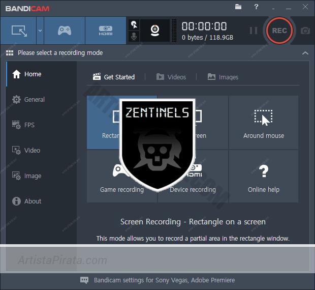 BANDICAM 4.1 - GRABAR escritorio, juegos y vídeos del PC descargar bandicam gratis mega 1fichier zippyshare
