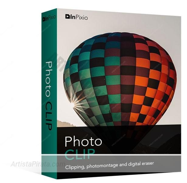 InPixio Photo Clip PRO 8.2 - Edición y capturas de fotos descargar editor fotos gratuito