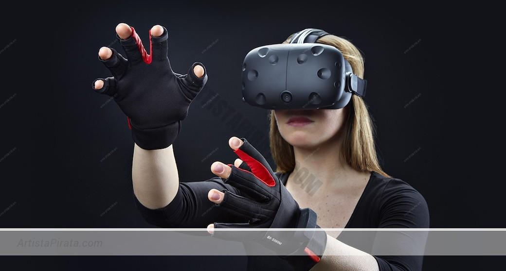 Manus-VR y artista web VR