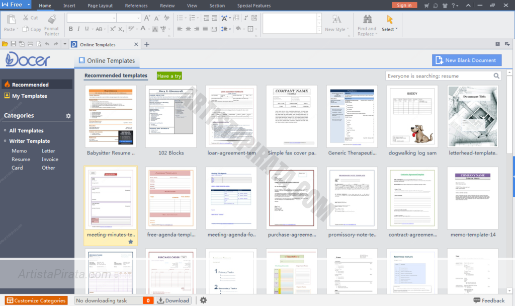 WPS Office 2016 Premium - Office ultra ligero ALTERNATIVA OFFICE LIGERA TORRENT MEGA