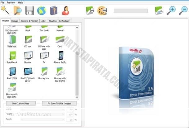 insoft cover commander 5 crear caratulas 3D de juegos programas musica descargar gratis mega zippyshare