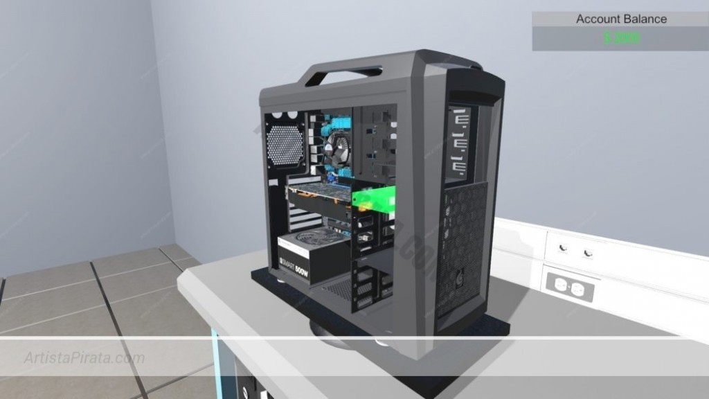 pc building simulator simulador montaje de ordenadores aprender a montar ordenador por piezas descargar gratis mega juegos