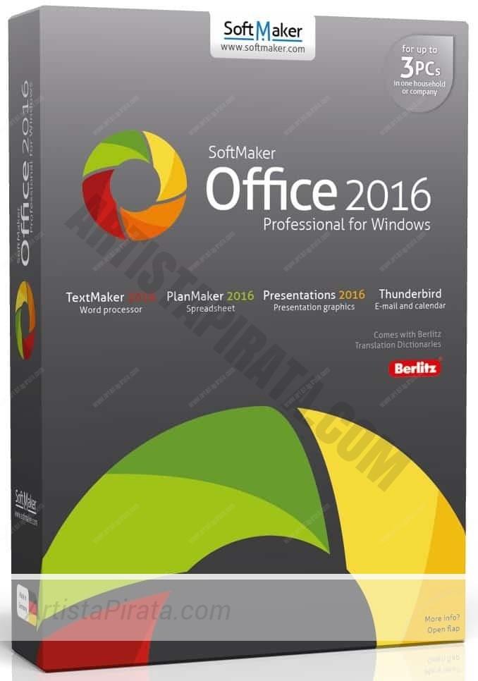 softmaker office 2016 profesional office gratuito paquete ofimatico gratuito
