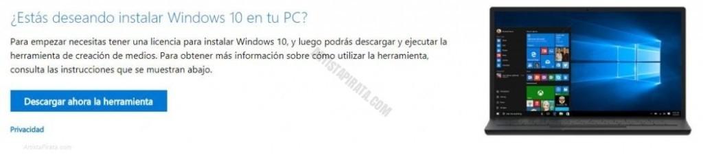 windows 10 descargar oficial gratis