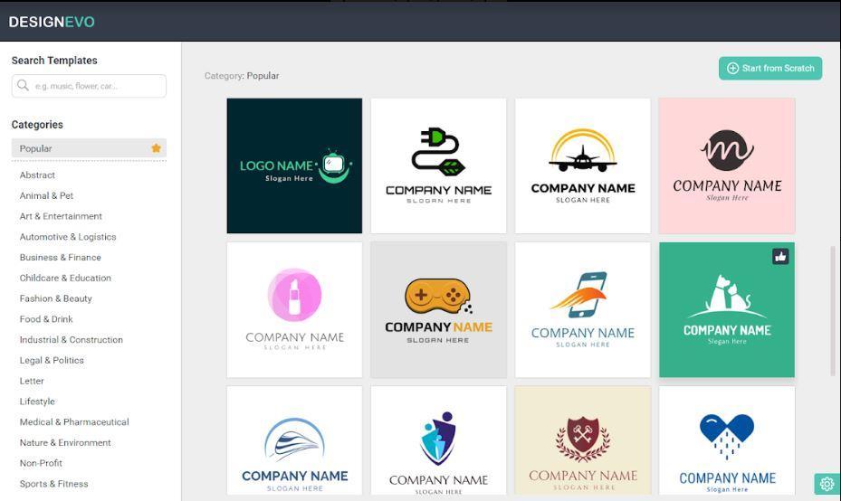 designevo crear logos de empresa facilmente crear logotipos rapido sin programas crear logo online gratis