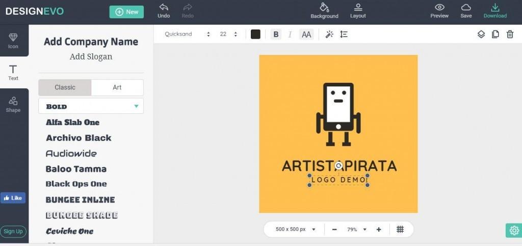 designevo crear logos de empresa facilmente crear logotipos rapido sin programas crear logo online plantillas logos
