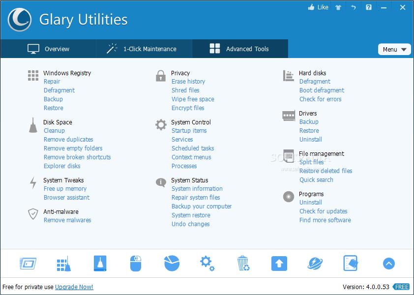 Glary Utilities PRO 5 - Optimiza y limpia tu PC descargar glary utilitie