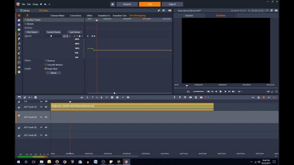 Solución Pinnacle Studio 21 - No hay vídeo en la previsualización