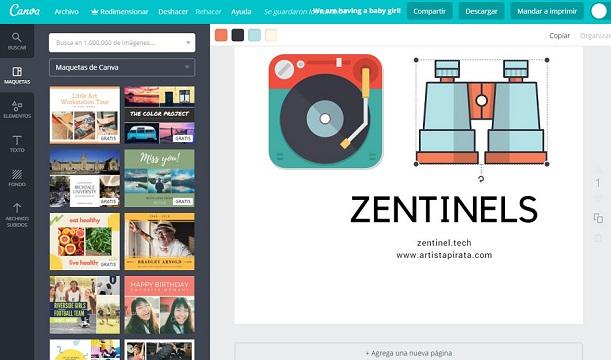 crear collage online gratis canva creación de collages fotograficos online