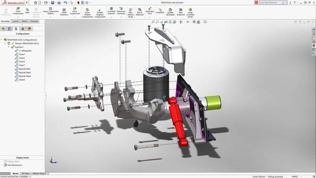 solidworks 2018 full mega programa CAD 3D mecanica