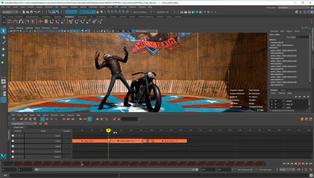 Autodesk-Maya-2018 serial activar maya 2018 mega full time editor maya 2018