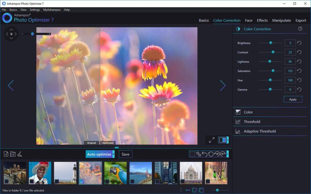 ashampoo photo optimizer 7 full mega. optimizar fotos automaticamente mejorar calidad de fotos zippyshare