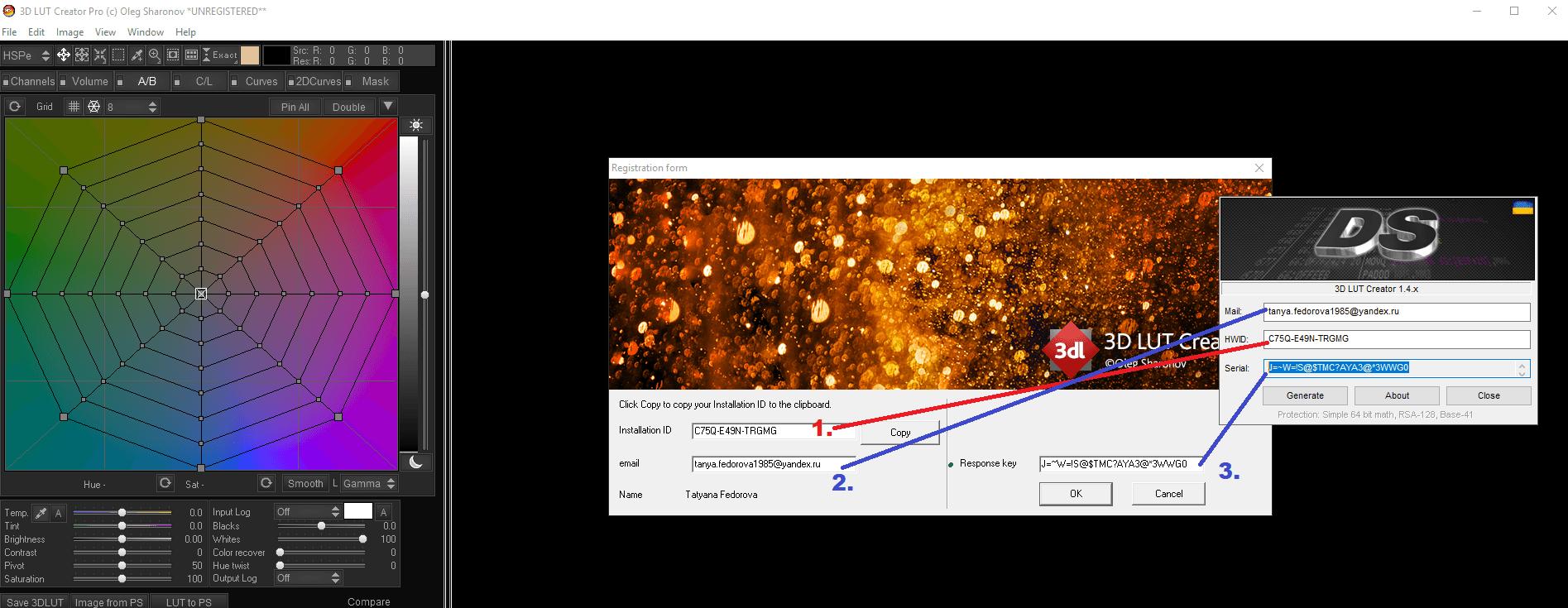 3d lut creator parchea tutorial activar 3dlut