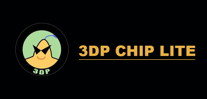 3DP-Chip lite actualizar controladores windows - alternativa driver booster