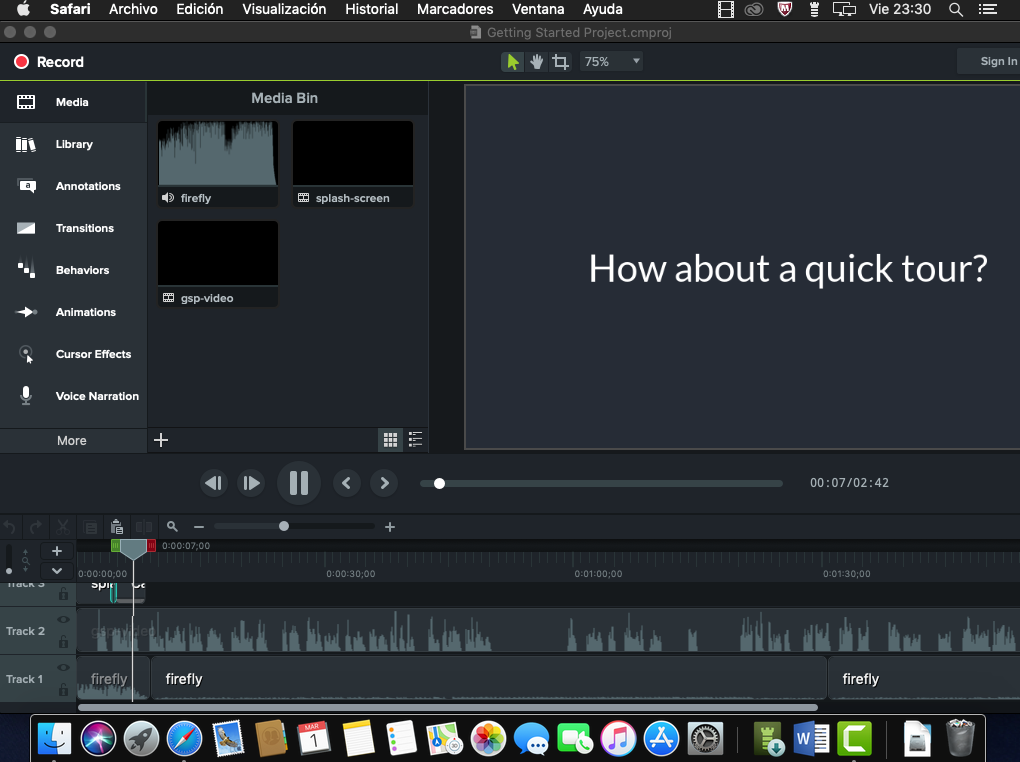 camtasia mac full 5