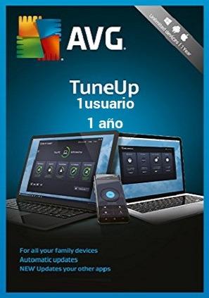 AVG Tuneup 2018 licencia original 1 usuario 1 año
