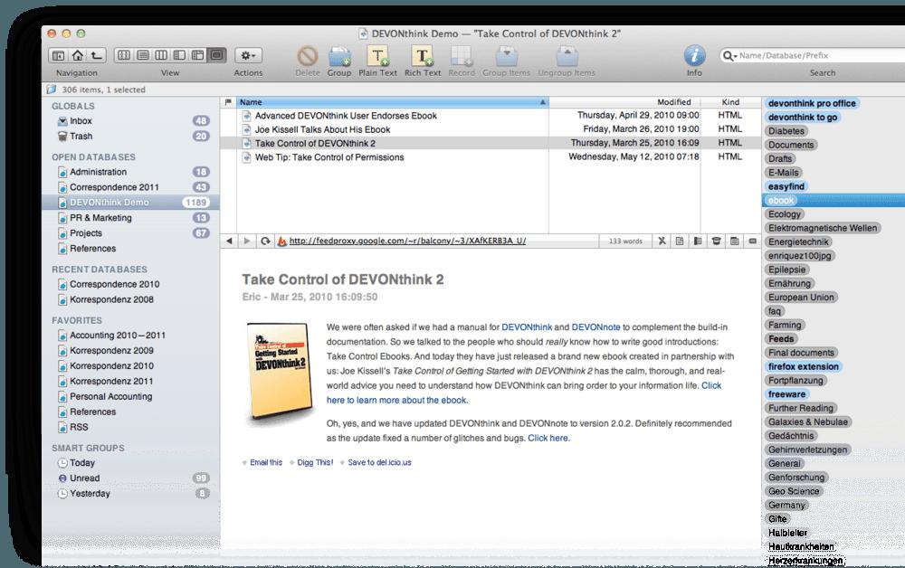 devonthink pro office full mega oficce para mac drive