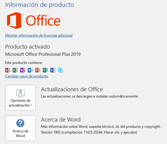 Office 2019 Pro Plus Licencia Original Certificada Artista Pirata