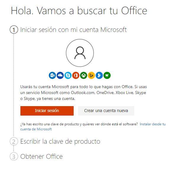licencia office 2016