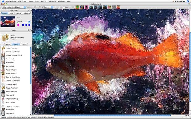 synthetik studio artist para mac - programa rotoscopio - pintura rotoscopio artistica mac