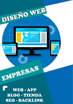 DISEÑO-WEB-EMPRESAS-CREAR TIENDA ONLINE - DISEÑADOR WEB