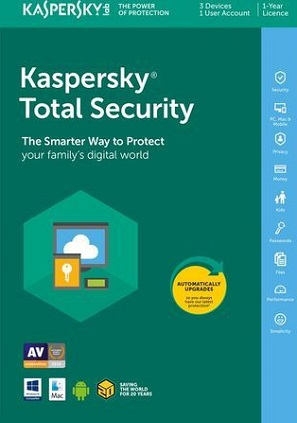 licencia kaspersky total security