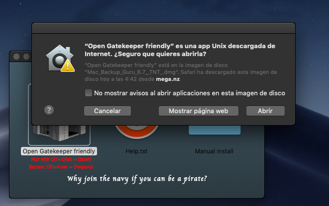 instalar programas de mac gatekeeper friendly - icono de castillo