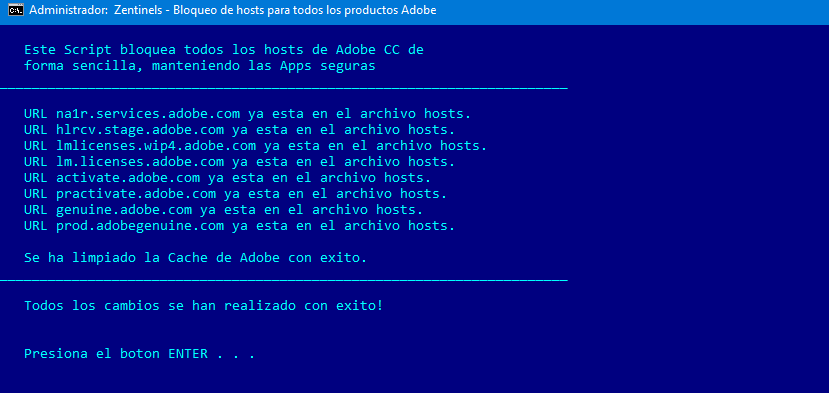BLOQUEAR HOSTS ADOBE FACIL