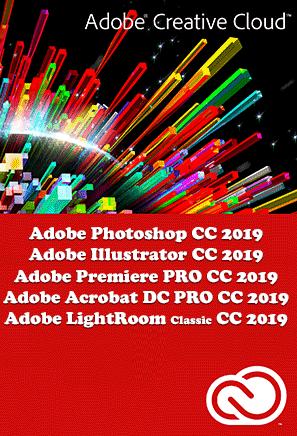 soporte tecnico adobe cc 2019 - instalar adobe cc 2019 programas