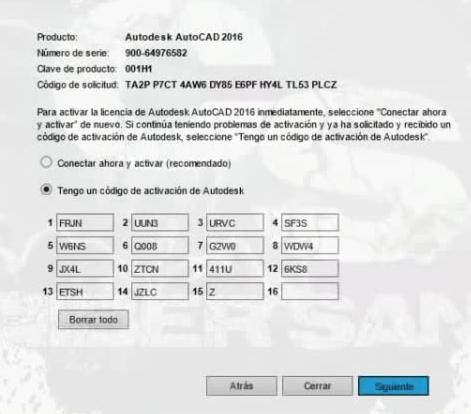 autodesk activar - activar autocad 2019